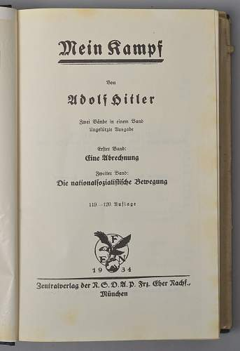 Examples List on Mein Kampf