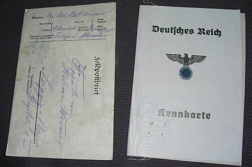 DAF,Passport,arbietsbook & Kennkarte.