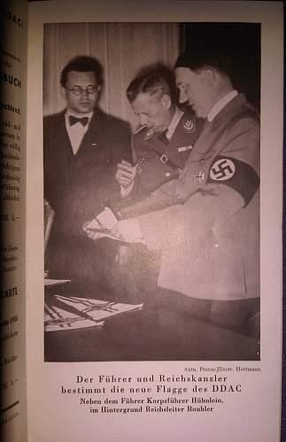 Berlin Find: DDAC CLUBBUCH 1936
