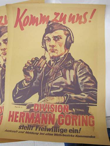 Herman Goring division poster new find