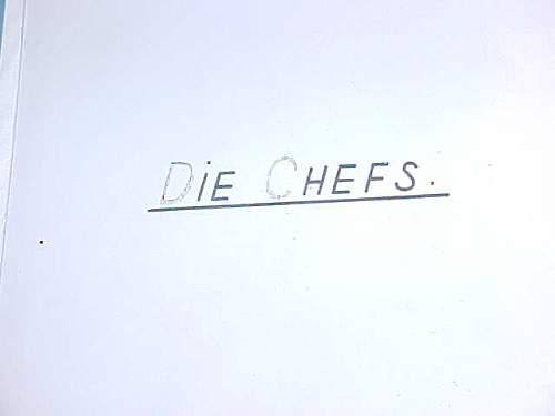 Odd photo album in German w German Chemists Factories