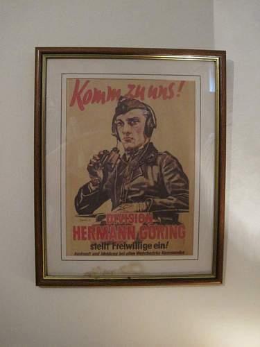 Herman Goring division poster new find