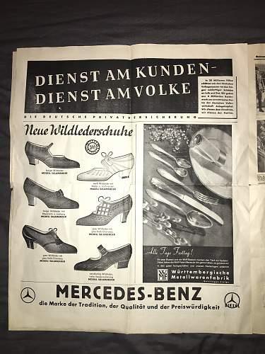 Illustrierter Beobachter Propaganda Newspaper