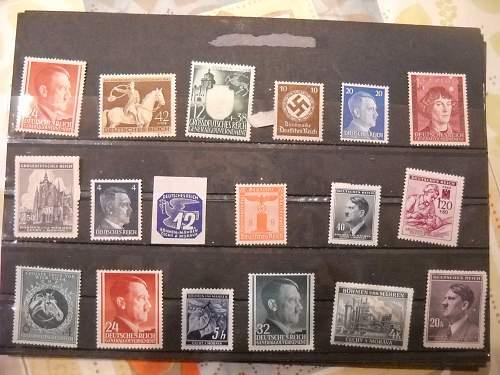 Deutsches Reich Stamps