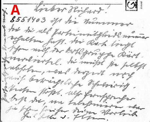 SS Feldpost Translations