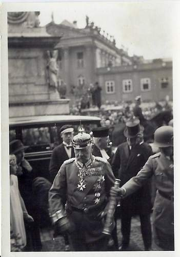 """Great """"5 minutes before"""" photo of """"Tag von Potsdam"""" 1933"""
