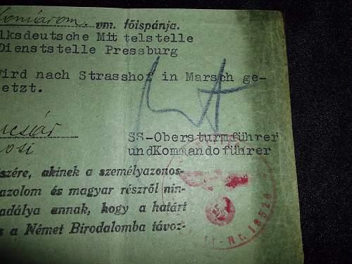 1945 SD ausweis