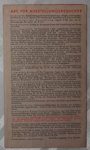 Third Reich Leaflet