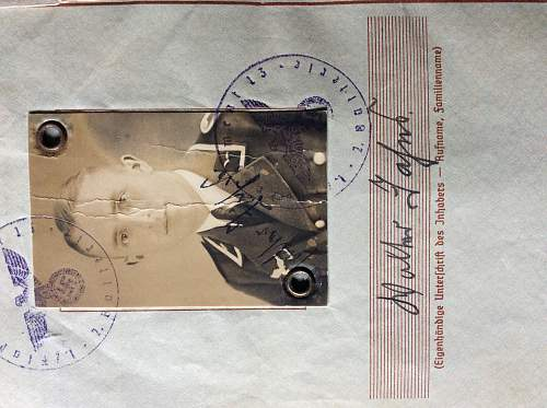 Spanish civil war Luftwaffe veteran wehrpass