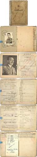 10th SS Frundsberg Soldbuch Questions