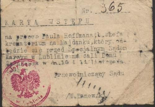 SS-Unterscharfuehrer Paul Hoffmann