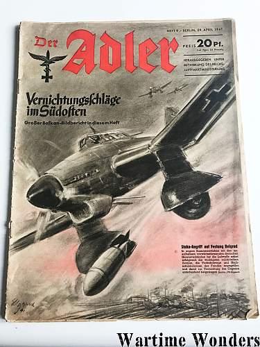'Der Adler', December 1941