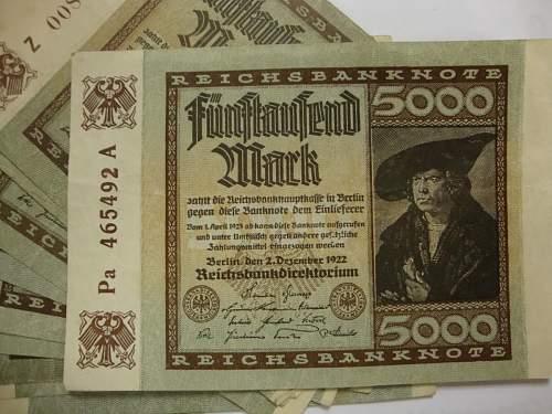 Reichmarks