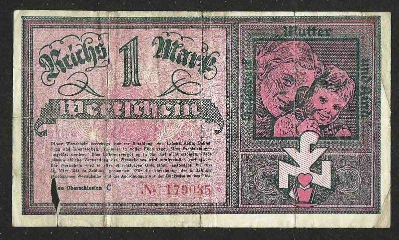 1944 wertschein