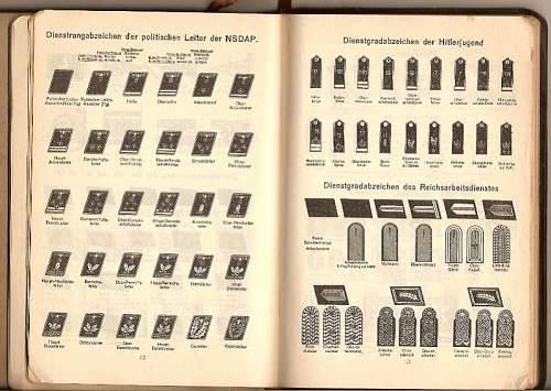 German 1940 Journal/Calendar/Propoganda-informational Book