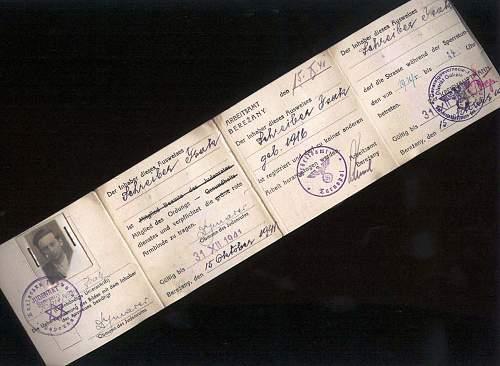 1942 ausweis-Litzmannstadt