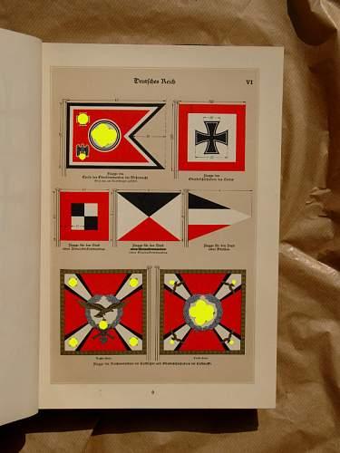 Original 1939 Kriegsmarine Flaggenbuch !!!