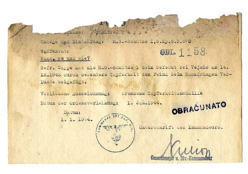 award document 1944