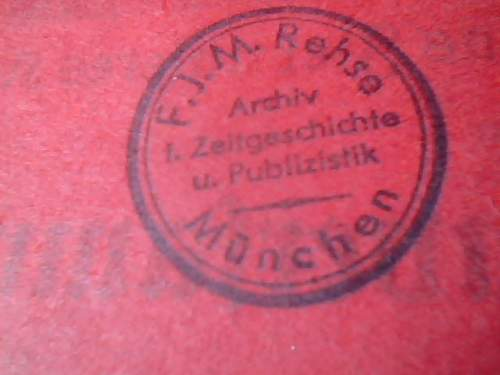 1930 Austrian Nazi Party Pamphlet