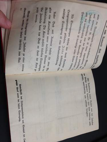 NSDAP Membership Book