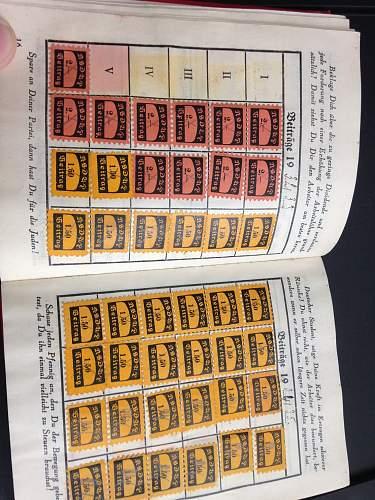 NSDAP Membership Book