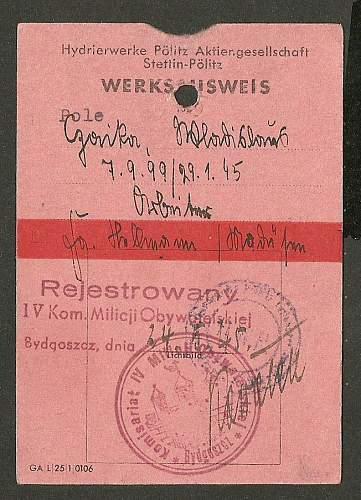 German hand-writing...