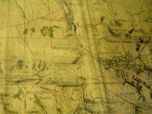 German Kursk map