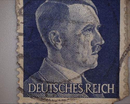 Got a new toy in the mail! Third reich era stamps!?