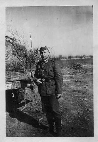 Info about this picture of my Grandfather