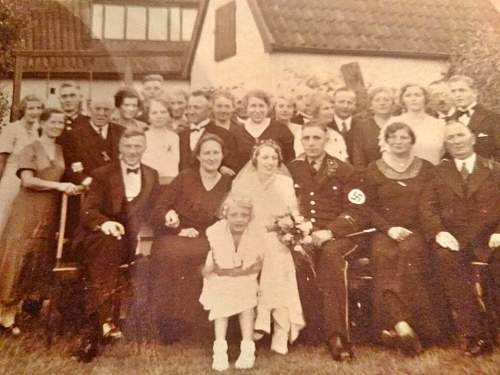 Help Identifying Uniform in a Wedding Postcard