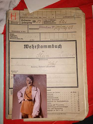 Would like some help on translation of Military dating Book