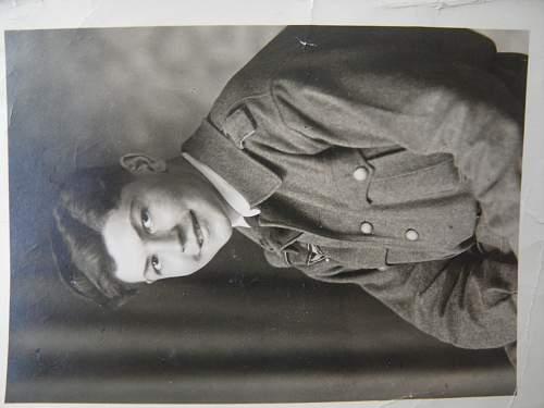 LW Flakhelper photo with interesting inscription