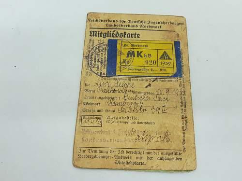 Reichskulturkammer ausweis and more ausweise