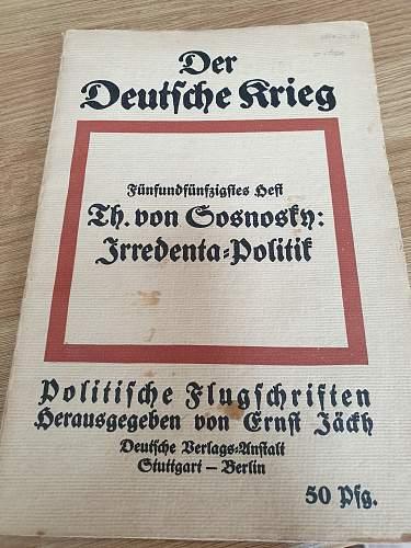 Booklet help