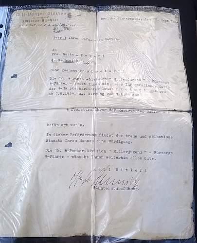 SS Death Notice