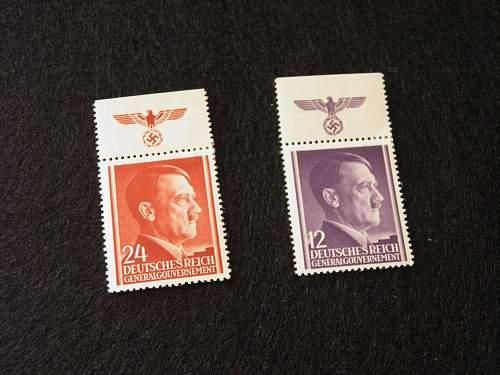 NSDAP Briefmarken