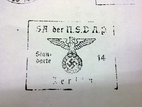 document stamp real or fake?