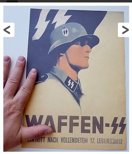 Waffen ss poster