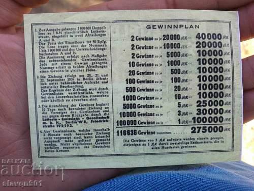 lottery ticket DRK