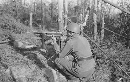 Enemy technique in enemy hands ,show photos