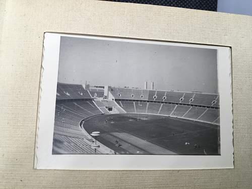 1936 Olympics Tourist Photo Album