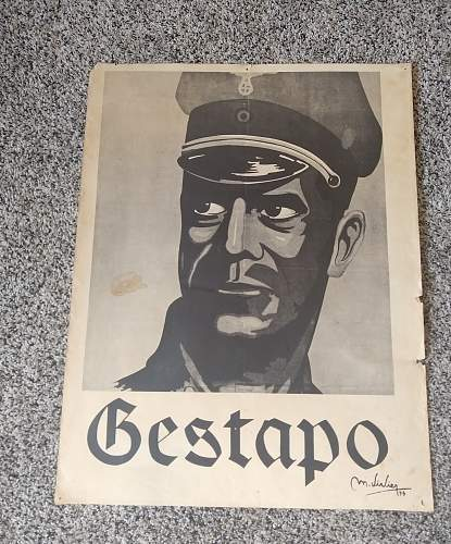 Gestapo Poster