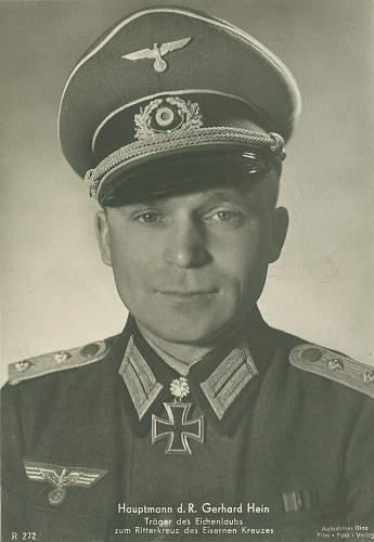 Ever  Heard  of  Lt. Colonel  Gerhard  Hein?