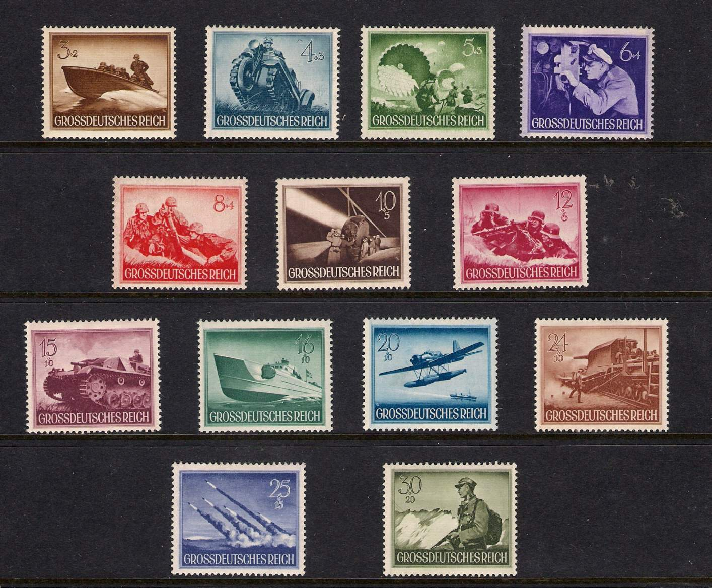 1936 Summer Olympics Stamp Booklet