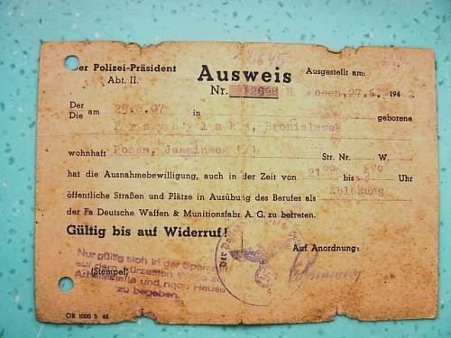 assisting in the German war effort
