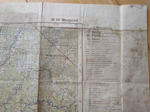 Is this map of Nowgorod Original from WW2? Who could used it?