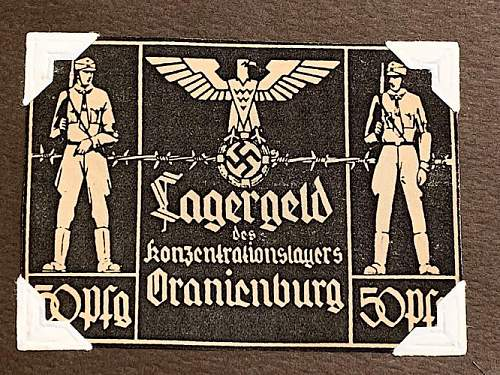 Oranienburg Lagergeld 50pfg