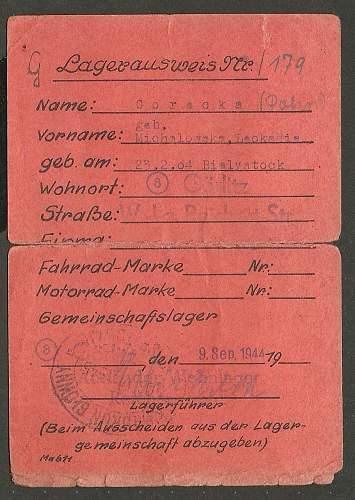 what is a gemeinschaftslager?