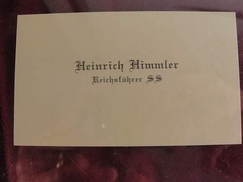 HH calling card