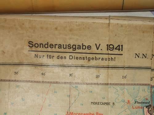 English or German Flying Maps